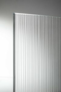 Strip porta a vetro dettaglio