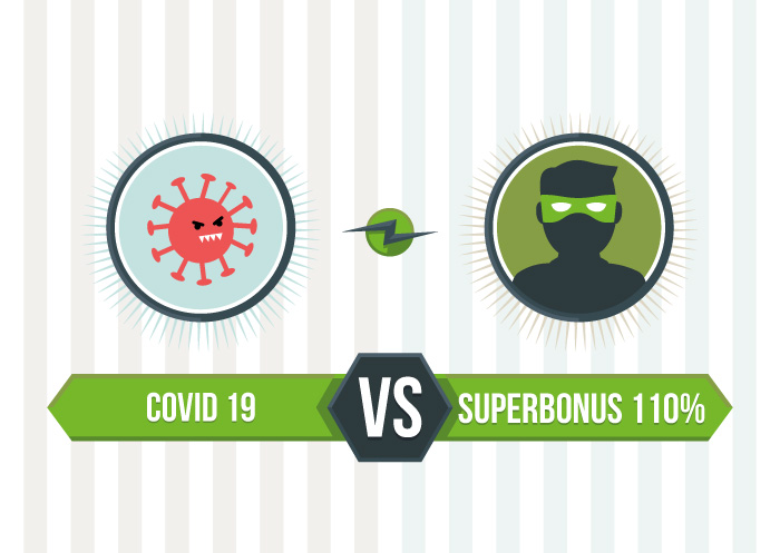 superbonus 110% vs Covid